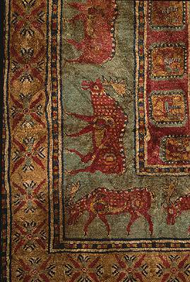 The Pazyryk Carpet - Detail