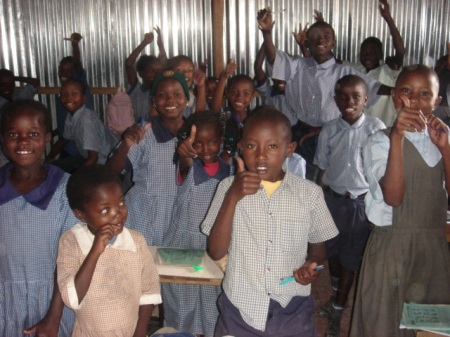 Kenyan pupils of the Kenyan Project